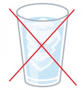 更年期と冷たい飲み物